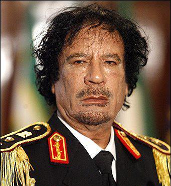 M. Gaddafi