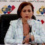 Tibisay Lucena CNE