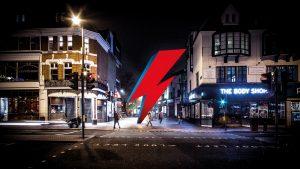 Monumento a Bowie en Brixton
