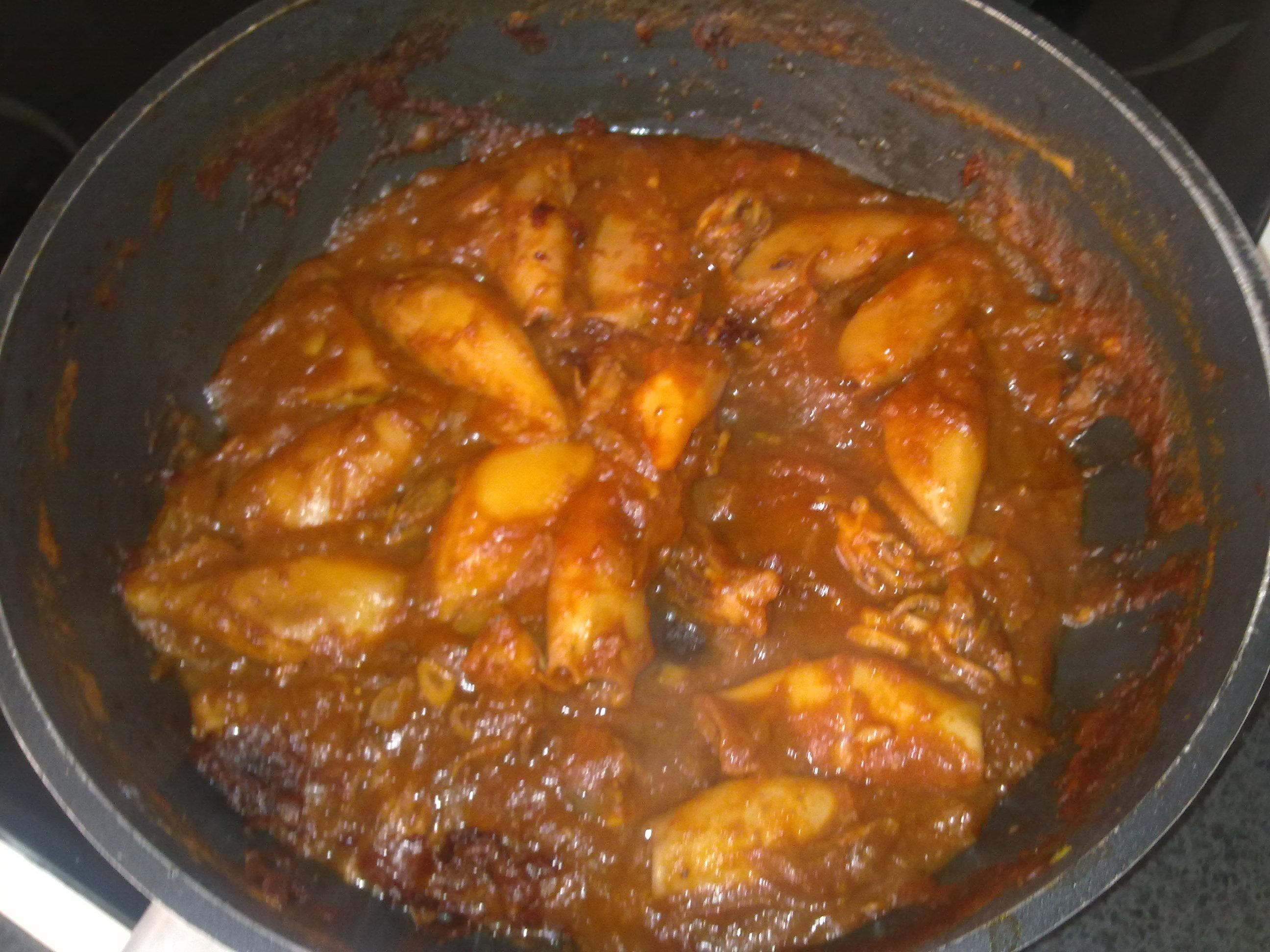 Hermoso cocinar chipirones galer a de im genes arroz con - Chipirones rellenos en salsa de tomate ...