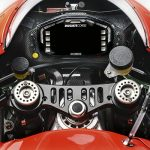 The dashboard of the Ducati Desmosedici GP13 MotoGP model that will compete in the MotoGP 2013 season is seen in this picture provided by Wroom Photoservice received by Reuters January 16, 2013. REUTERS/Wroom